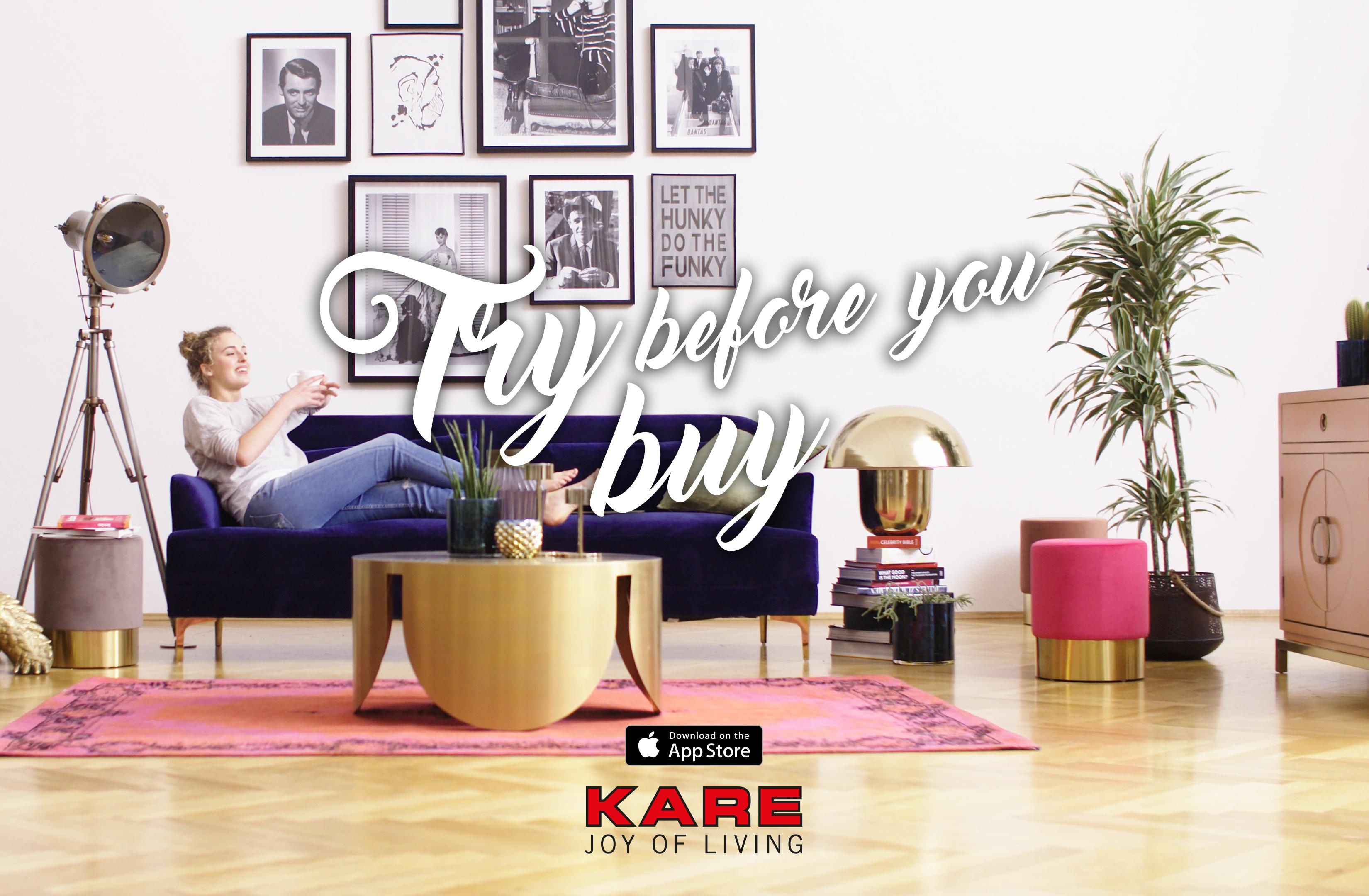 Try Before You Buy Die Kare Roomdesigner App Ist Da Kare B2b