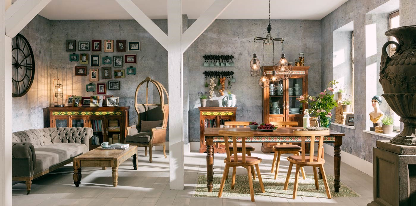 Vintage Romance  Casual Country House Style KARE Colombia - Vintage country house