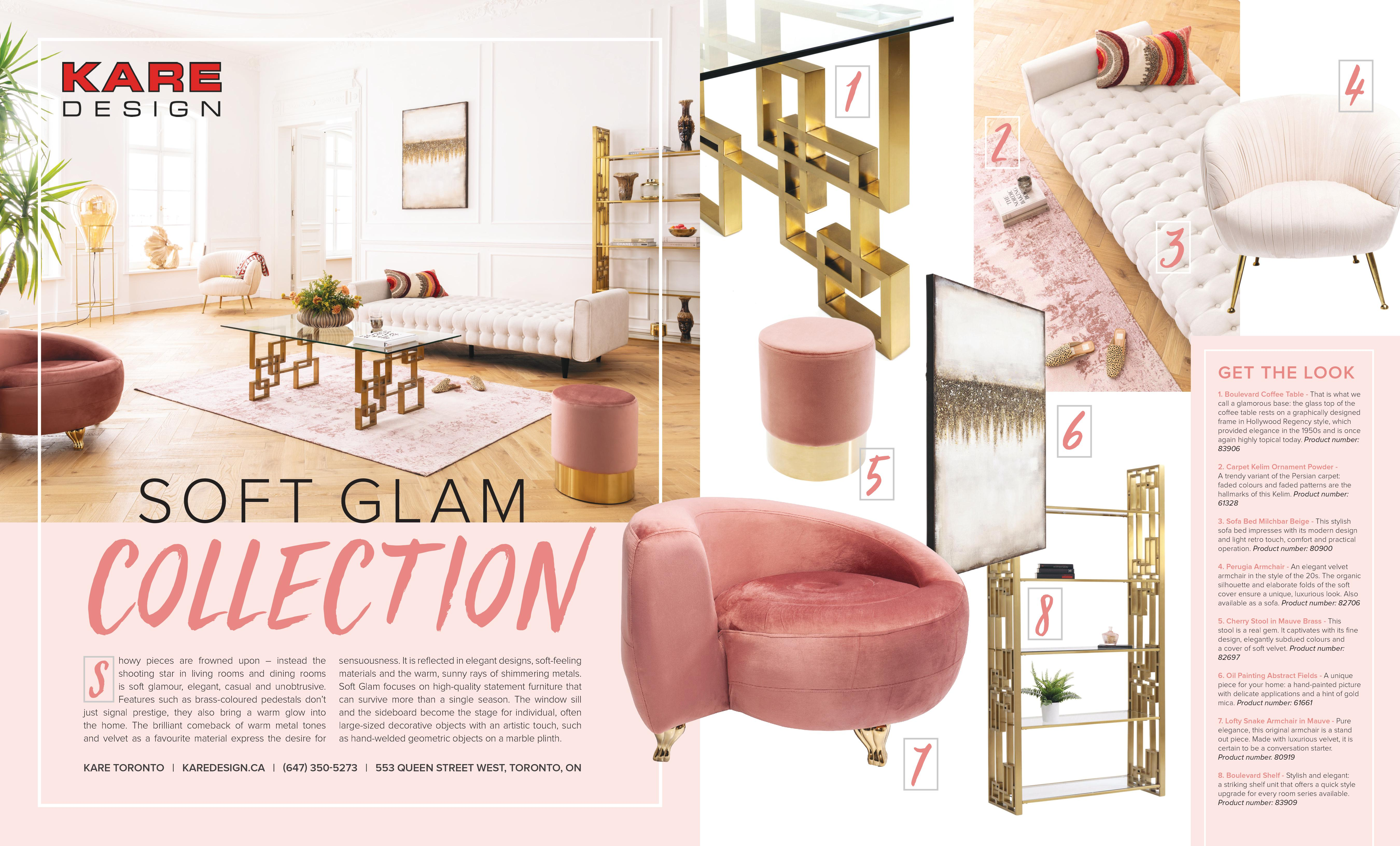 Soft Glam With The Invidiata Collection Magazine Kare Finland