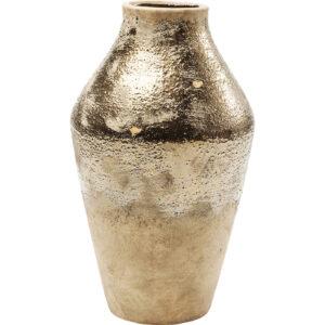 Vase Shimmery Gold Rose 38cm-$109