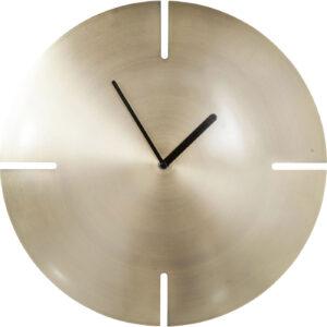 Wall Clock Cut Brass- $149