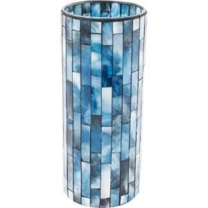 Vase Mosaico Blue 25cm- $39