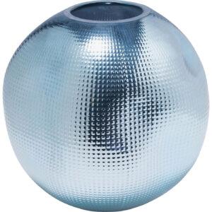Vase High Society Light Blue 20cm-$49
