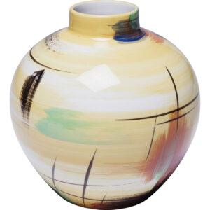 Vase Arte Colore Yellow Small-$69