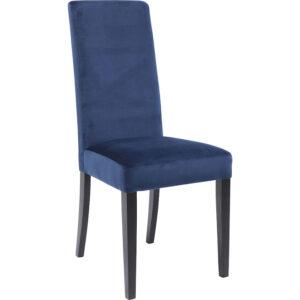Chair Econo Slim Velvet Blue - $249