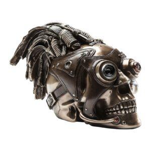 Deco Head Steampunk Skull- $159