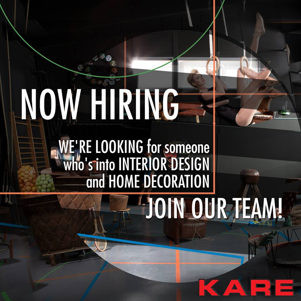We are hiring - KARE cyprus