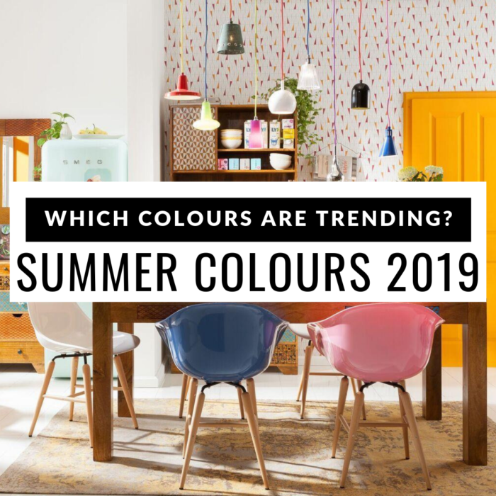 Which colours are trending - summer 2019