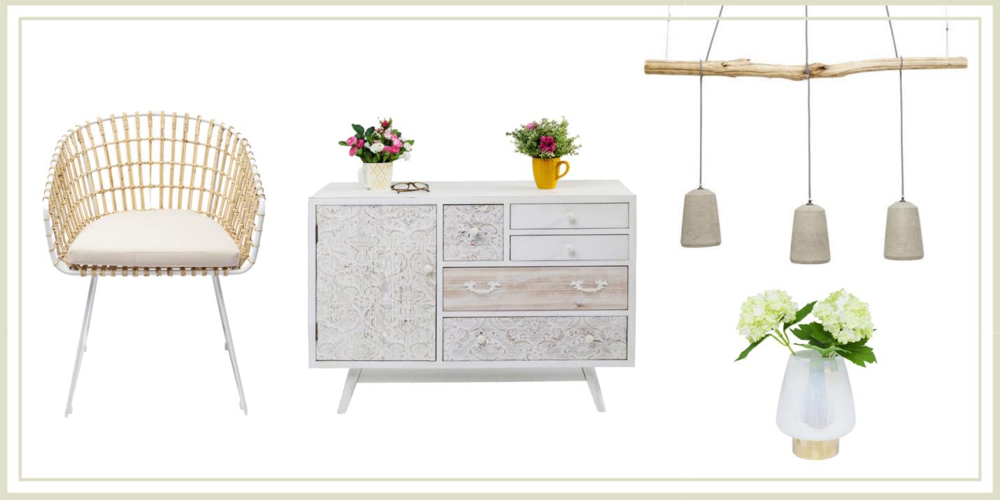 Summer colours - White Furniture Ideas