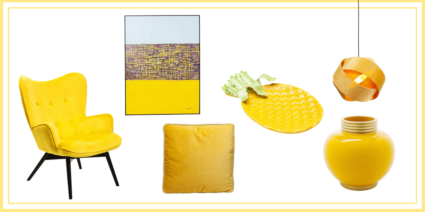 Summer Colours - Yellow Furniture Ideas