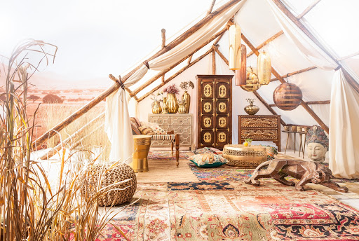 ethic summer look interior design