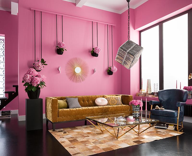 Jazz living room decor