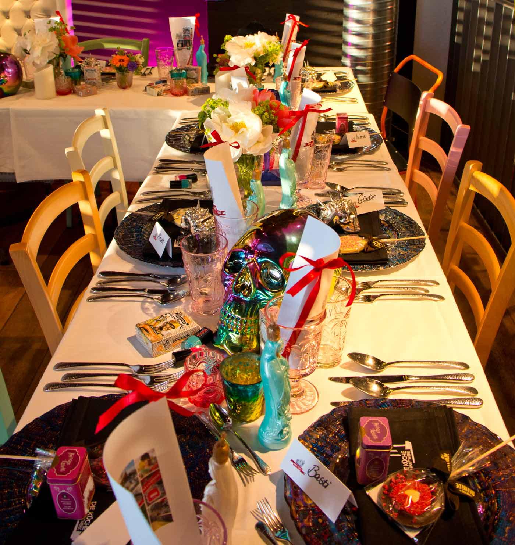Decoracion de la mesa por KARE