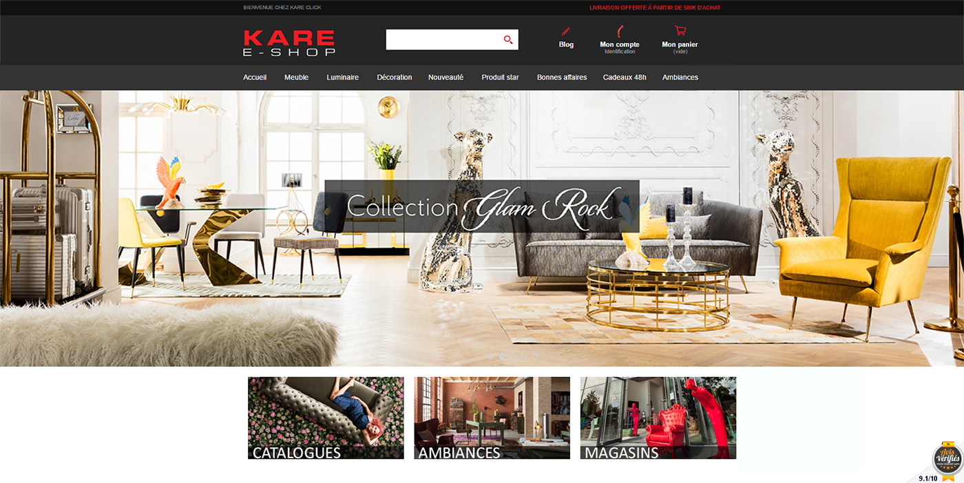 buy online kare click kare france. Black Bedroom Furniture Sets. Home Design Ideas