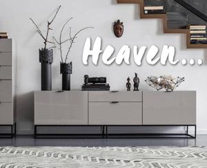 heaven mobilier contemporain et design. Black Bedroom Furniture Sets. Home Design Ideas