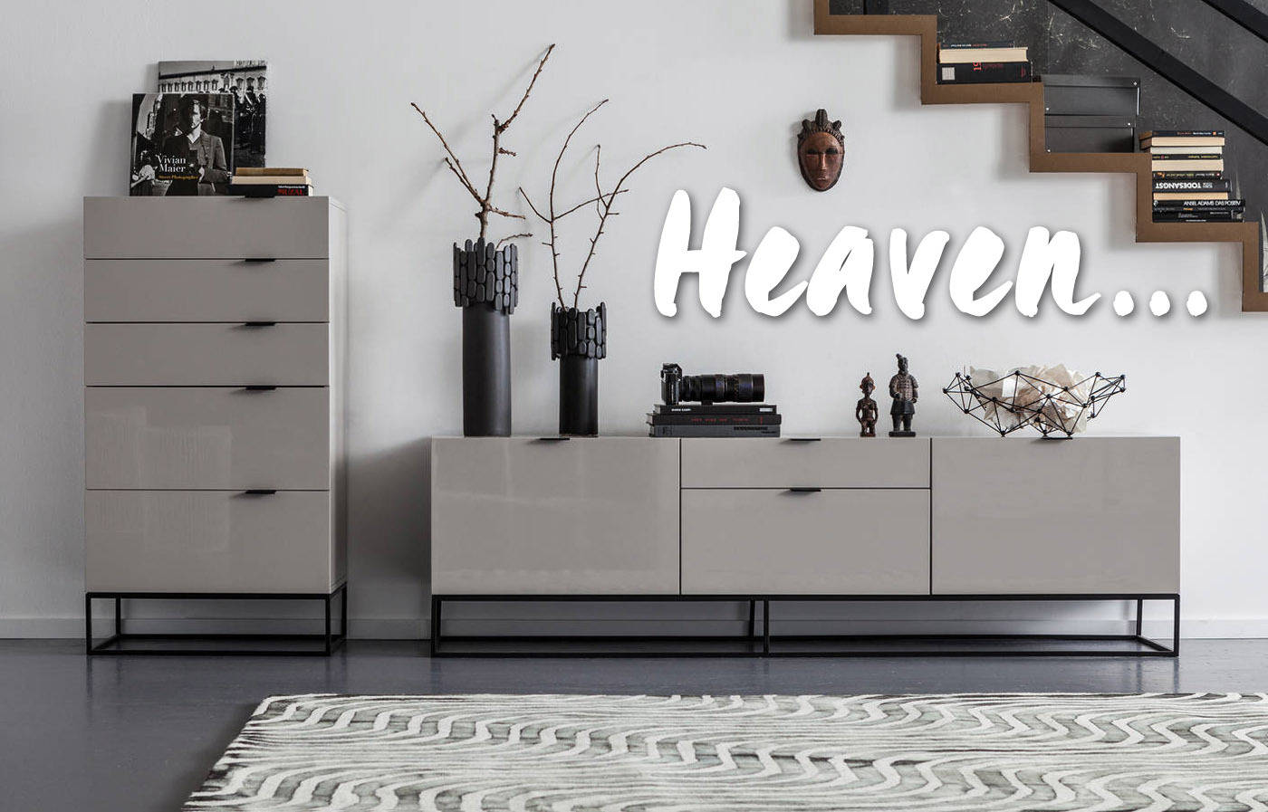 heaven mobilier contemporain et design. Black Bedroom Furniture Sets. Home Design Ideas