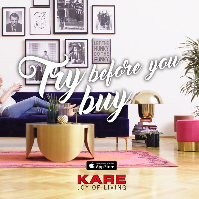 kare les magasins de la marque kare design. Black Bedroom Furniture Sets. Home Design Ideas