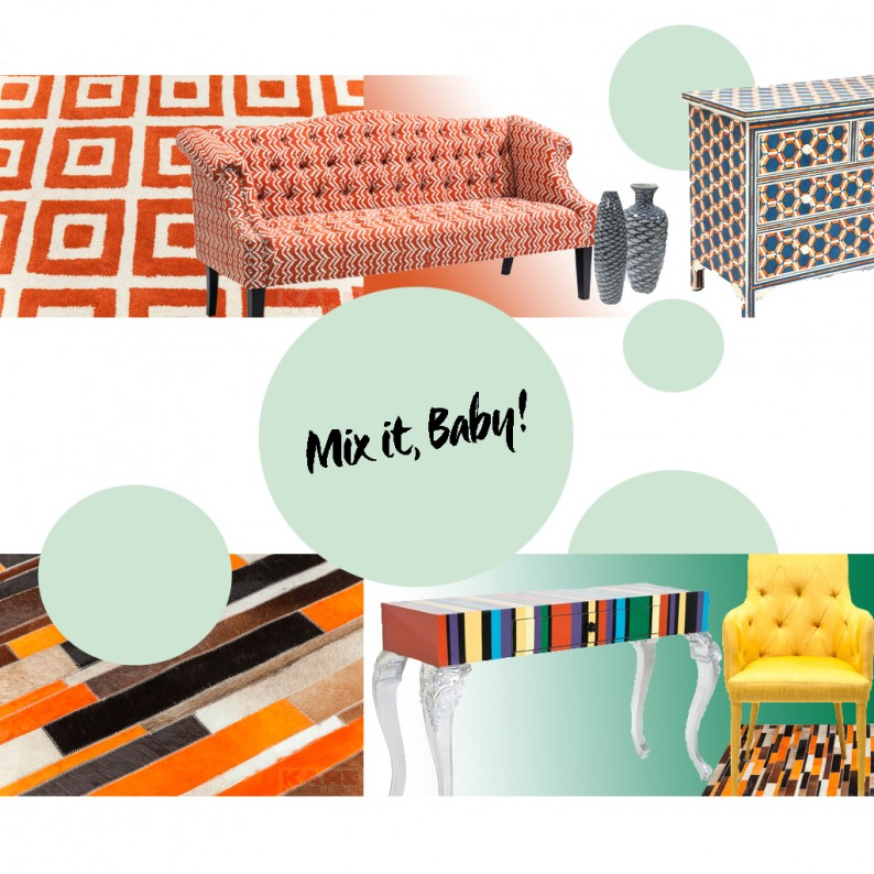 MIX AND MATCH – COMBINING PATTERNS