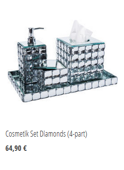 Cosmetik Set Diamonds