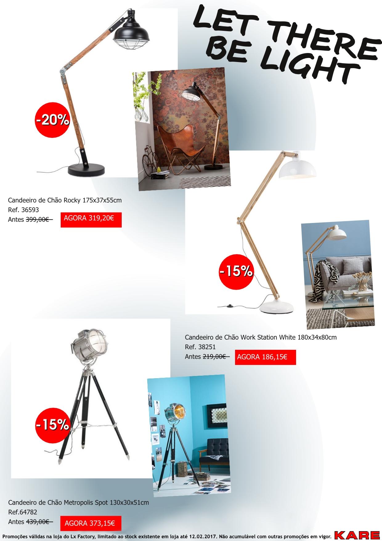 Promoções - Iluminação Chão2
