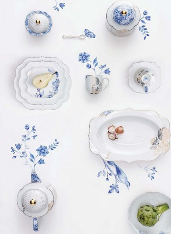 Royal White porcelain pip studio
