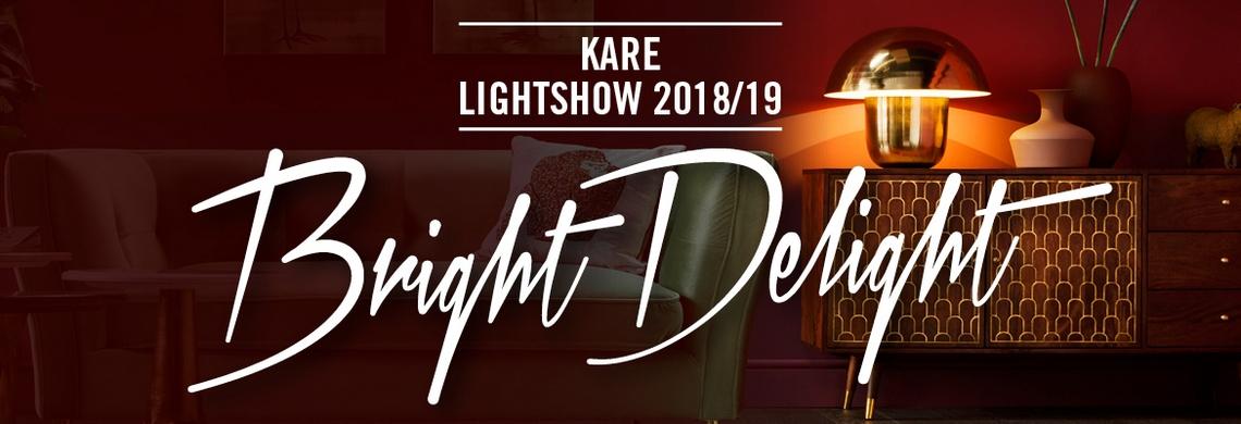 KARE Bright Delight rasveta 2018 1400x400