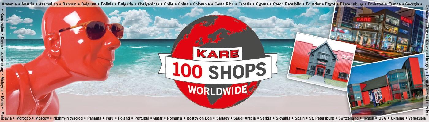 KARE 100 Shops Worldwide