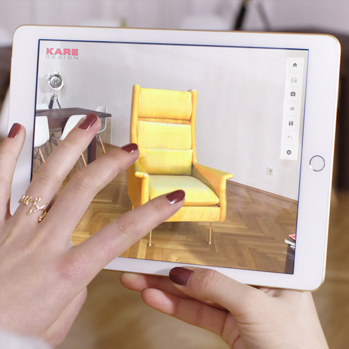 3D Room Designer App By KARE